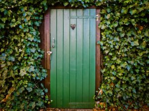 What direction door is good feng shui in 2018