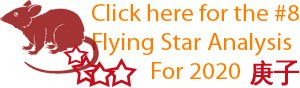 Click here for the number 8 Flying star analysis for 2020