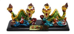 Panglong double coiled Dragon chasing pearl